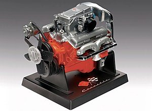 Revell Metal Body Corvette 327 Fuel Injection Engine