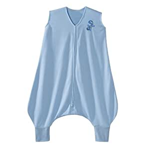 HALO Early Walker SleepSack Lightweight Knit Wearable Blanket, Blue, Medium (Discontinued by Manufacturer)