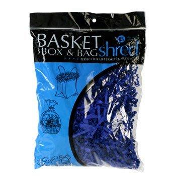49ers Gift Wrap - Gift Basket Bag and Box Shred 2 Oz Bag Blue