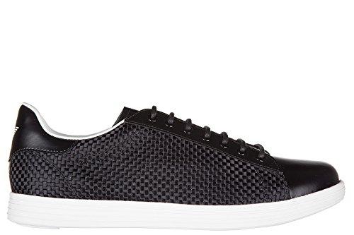 Armani Jeans chaussures baskets sneakers homme noir