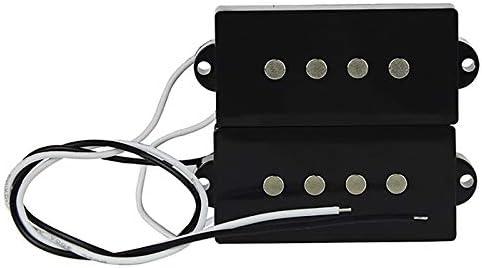 Noir Beauneo Pb Micro-Basse Humbucker Micro pour 4 Cordes Partie Basse de Guitare Basse de Rechange