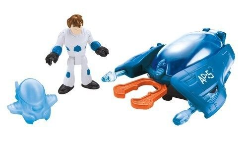Fisher-Price Imaginext Alpha Pod & Space Fighter Fire Discs Kids Toy Game New ,#G14E6GE4R-GE 4-TEW6W225836 (Imaginext Space Pod compare prices)