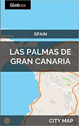 Map Of Spain Gran Canaria.Las Palmas De Gran Canaria Spain City Map Jason Patrick Bates