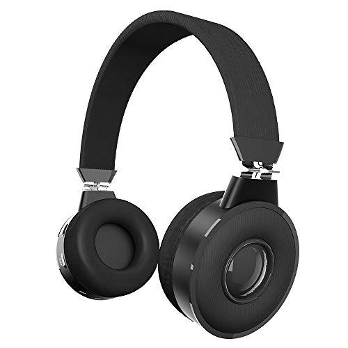 Zinq Technologies Beatle 5155 Super Bass Bluetooth On-Ear Headphones with Mic (Black)