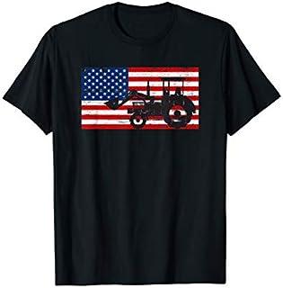 Cool Gift America Flag Farm Tractor Farmer Tshirt Funny Farmer Gifts Women Long Sleeve Funny Shirt