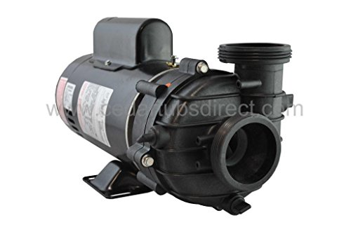 Dura Jet Tub - 2 HP Spa Pump - Sta-Rite DuraJet/Balboa Cascades Hot tub Pump -230 VAC