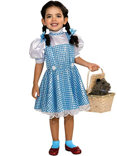 Wizard of Oz Dorothy Sequin Costume, Small (75th Anniversary Edition) -