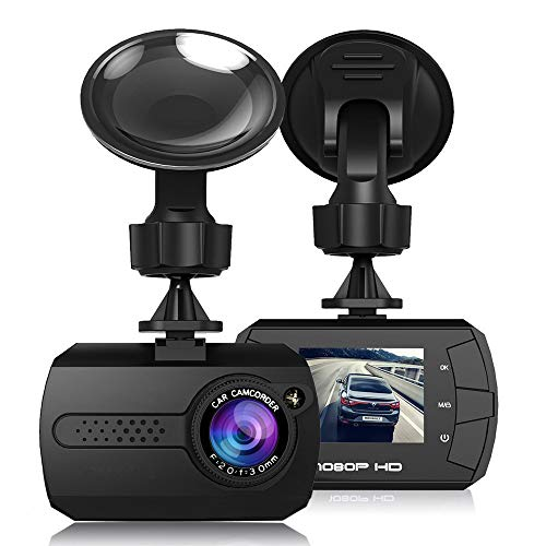 Car DVR Camera INorton 1080P HD Dash Cam with G-Sensor,Wide Angle Video Recorder,Motion Detection, WDR