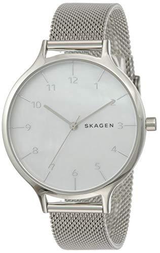 Skagen Women's Analog-Quartz Watch with Stainless-Steel Strap, Silver, 14 (Model: SKW2701)