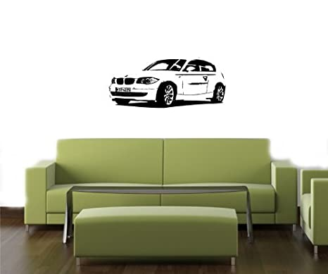 Amazon.com: Pared Mural, vinilo calcomanía BMW 1-Series ...