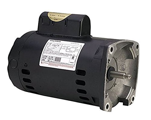 (A.O. Smith B2852 3/4 HP, 3450 RPM, 1 Speed, 230/115 Volts, 5.4/10.8 Amps, 1.25 Service Factor, 56Y Frame, PSC, ODP Enclosure Square Flange Pool Motor)