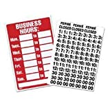 Office Depot(R) Brand Business Hours Sign, 8in. x 12in. by Office Depot