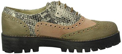 Derby Taupe 00113 combi Shoes Beige Katy Marc Femme Beige q7A1ngF
