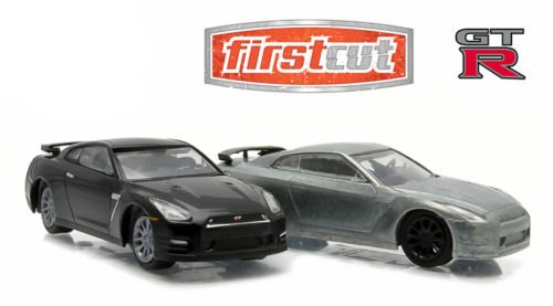 First Cut 2007-14 Nissan Skyline GT-R (R35) Hobby Only Exclusive 2 Cars Set 1/64 by Greenlight 29831
