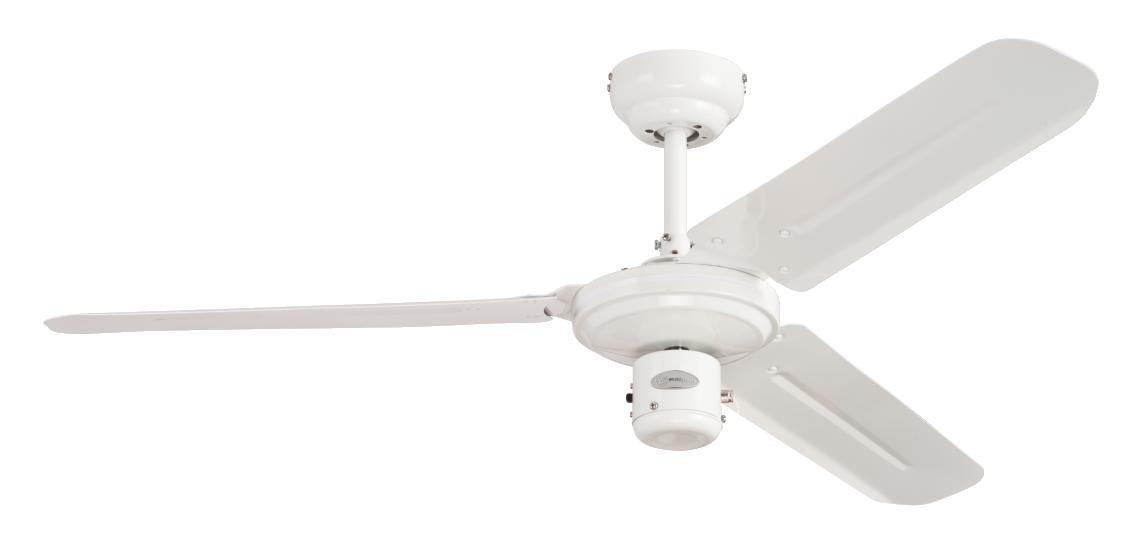 Westinghouse Industrial Ceiling Fan - Chrome 7826340