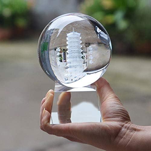 Tivollyff 50 / 80mmガラスクリスタルヒーリングボール写真レンズボールスフィア装飾