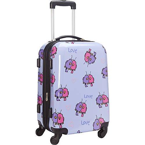 Multi Love Birds Hardside Spinner Luggage 21'' Spinner