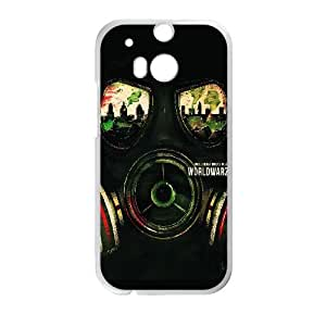 World War Z Poster HTC One M8 Cell Phone Case White&Phone Accessory STC_000384