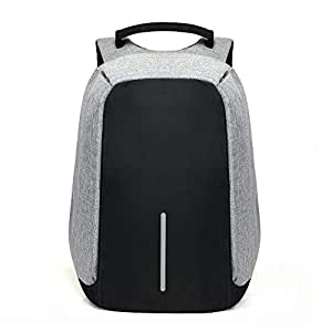 Travel Laptop Backpack,Business Anti Theft Laptop Backpack with USB Charging Port & Headphone Interface, Waterproof College School Computer Bag for Women & Men Fits 15.6 Inch Notebook