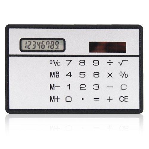 Calcolatrice da carta di credito Slimline Travel Beito