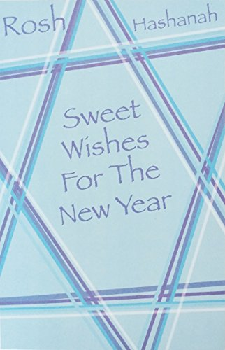 Sweet Wishes For The New Year - Rosh Hashanah Jewish Holiday Greeting Card -