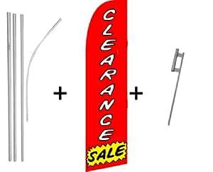 Clearance Sale Super bandera y poste Kit