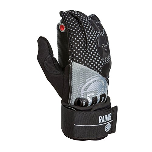 Radar Skis Vice Water Ski Gloves 2018 - X-Large/Black-Silver