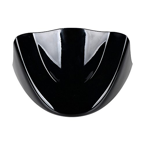 Glossy Black Front Spoiler Chin Fairing Cover Kit For 2006-2017 Harley Dyna FatBob Low Rider Street Bob Super Wide Glide