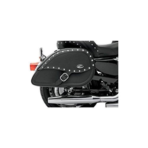 Saddlemen Drifter Saddlebags Teardrop Black Kawasaki VN900 ()
