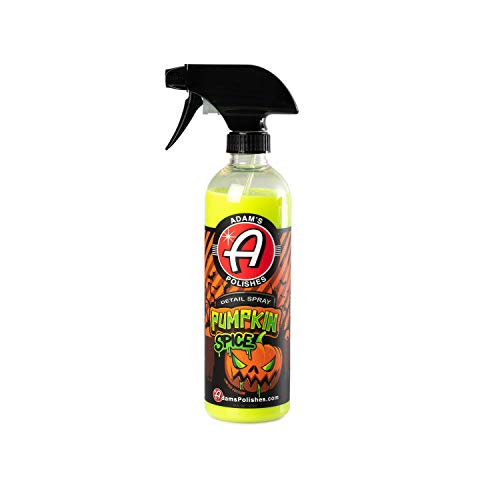 Adam's Pumpkin Spice Detail Spray 16oz - Enhance Gloss, Depth, Shine - Extends Protection with Wax Boosting Technology - Our Most Iconic Product, Guaranteed to Outshine The Competition