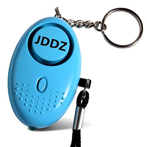 JDDZ Personal Safety Alarm, 140 db Safe Siren Song Emergency Self Defense Protection Device Anti Rape/Anti Theft Security with Mini LED Flashlight for Women, Kids and Elderly, Blue