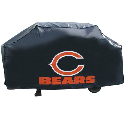 NFL Chicago Bears Vinyl Padded Deluxe Grill Cover from Rico Industries