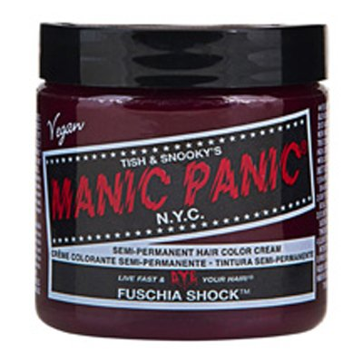 Manic Panic High Voltage Classic Cream Formula Hair Color Fuschia Shock 118ml mpc01-fuschia-shock