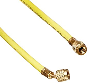 "Yellow Jacket 21024 Plus II Hose Standard 1/4"" Flare Fittings, 24"""