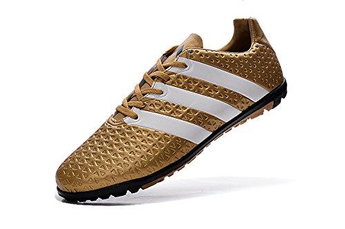 yurmery Schuhe Fußball Soccer Ace 161TF Gold Herren Stiefel