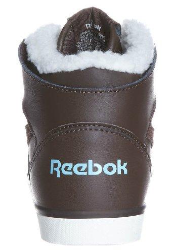 Reebok HAZELBORO M Braun Classic High-Top Damen High Sneaker Schuhe Halbschuhe warm gefüttert