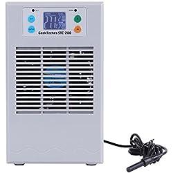TOOGOO 100-240V STC-200 Water Heater & Chiller Machine Thermostat for Fish Tank Aquarium(US Plug 35L 100W)