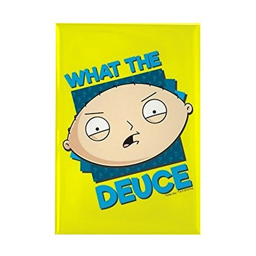 CafePress Family Guy What The Deuce Rectangle Magnet, 2