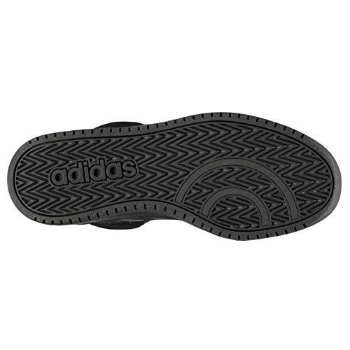 cblack Zapatos Negro 2 cblack Para Mid Cblack carbon Baloncesto 0 cblack carbon Hombre Adidas De Hoops zvqIAA