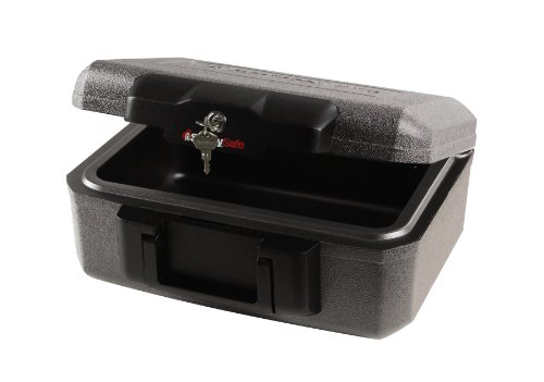 SentrySafe Fire Safe, Fire Resistant Chest, 0.18 Cubic Feet, Extra Small, 1210 by SentrySafe (Image #1)