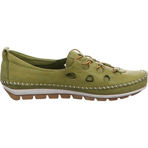 Pantofola Piatta Gemini Da Donna Verde 003115-01 / 070 Verde
