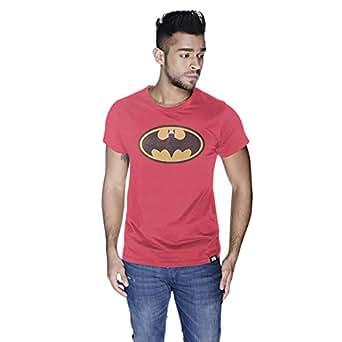 Creo Batman Arab T-Shirt For Men - S, Pink