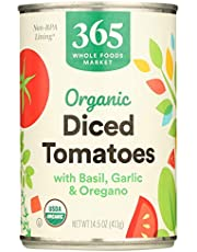 365 Everyday Value Organic Diced Tomatoes with Italian Herbs, 14.5 oz