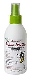 Quantum Buzz Away, Original Spray, 6-Ounce