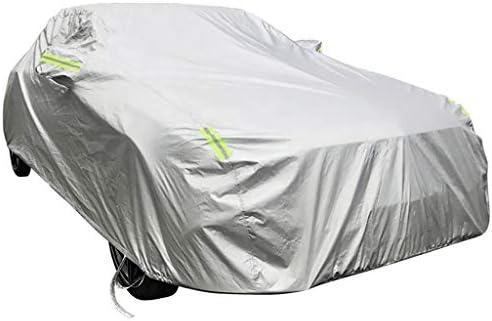 アウディRS 5クーペSnowroof防水耐凍害性防塵アンチUVプラスベルベットと互換性暖かい車のカバーを保つフォーシーズンズ利用可能な屋外駐車シールド (Color : Silver)