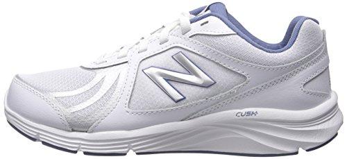 Walking azul Mujeres Blanco Shoe nbsp;v3 nbsp;walking Balance Zapatos Cush New w Ww496 OFqR8nP