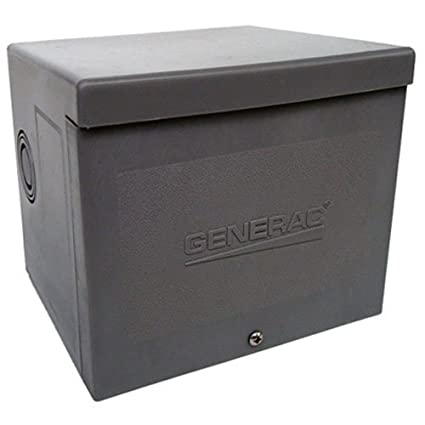 Generac 6336 20-Amp 125/250V Power Inlet Box