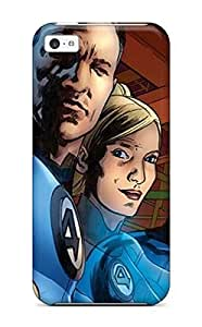 Hu Xiao Awesome Denise Cook Defender Tpu case cover For Z80QWSkB2li Iphone 5c- Fantastic Four