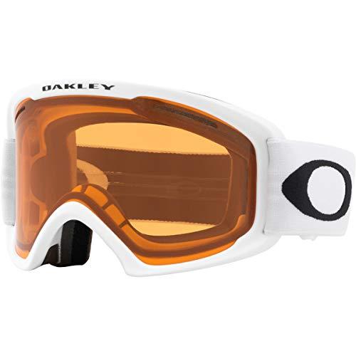Oakley O Frame 2.0 Snow Goggles, Matte White, Medium, Persimmon Lens (Goggles Oakley Frame Ski O)