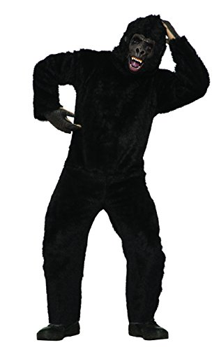 Forum Men's Gorilla Costume, Brown, (Adult Gorilla Costume)